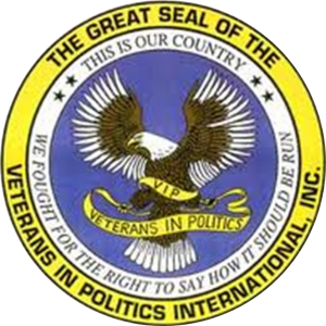 Great Seal of the Veterans In Politics, International, Inc.