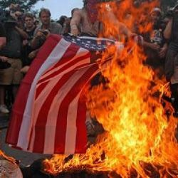 "Should public burning or defacing the American Flag a ""Hate Crime""?!"