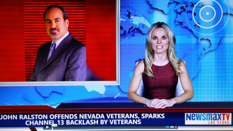 Call To Veterans Boycott Ktnv Channel 13 Until Jon Ralston Issues