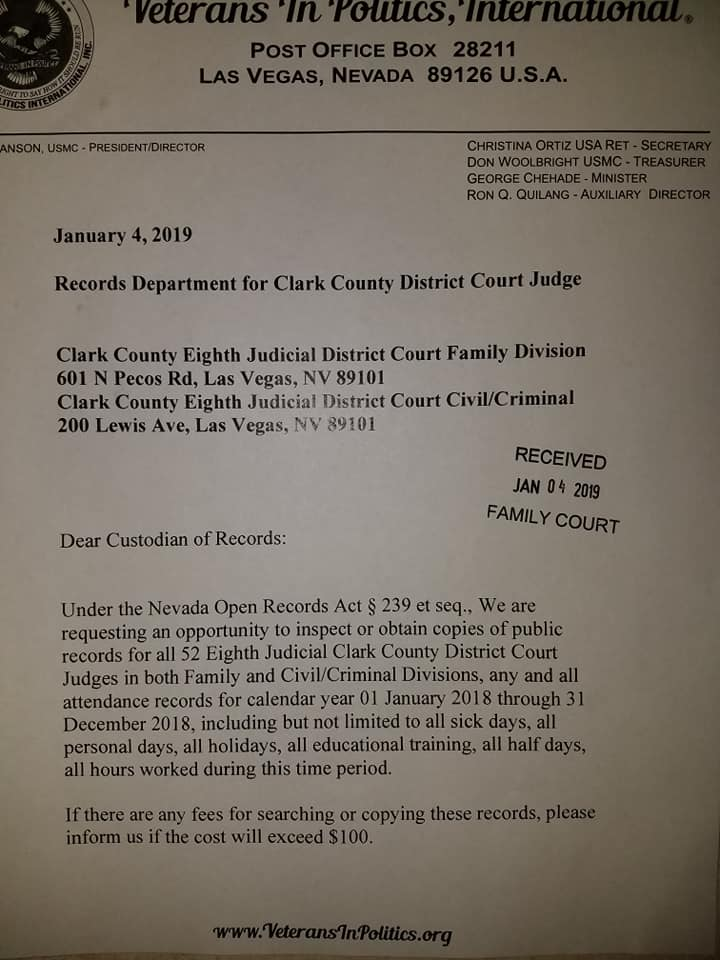 Clark County Arrest, Court, and Public Records