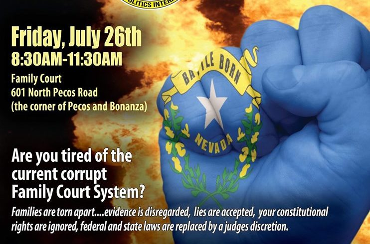 Family Court Protest hosted by Veterans In Politics