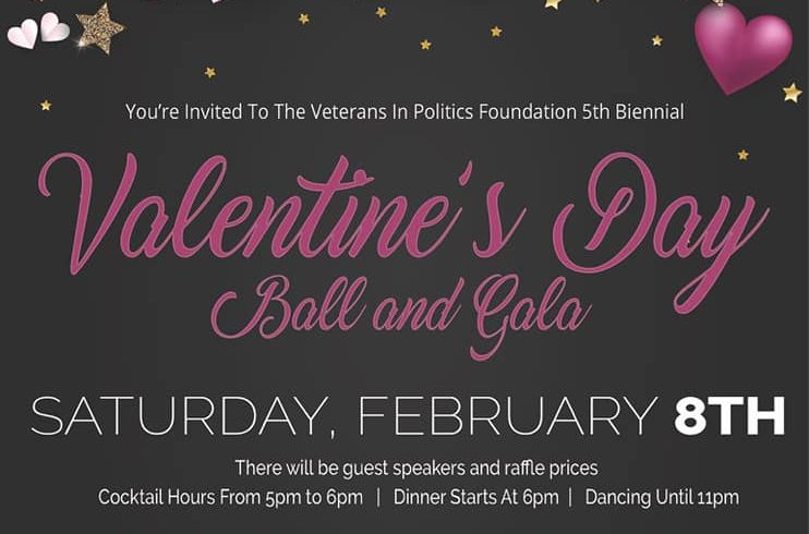 North Las Vegas Mayor will be the Keynote speaker for Veterans In Politics Foundation Fifth Biennial Valentine's Day Ball & Gala