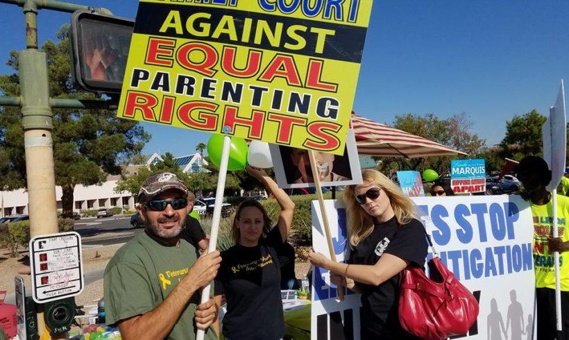 Family Court Virus Protest!