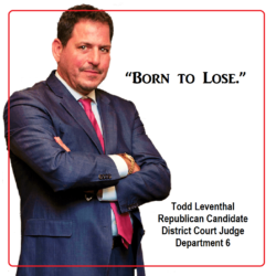 Todd Leventhal – Taking Up Space on the Ballot