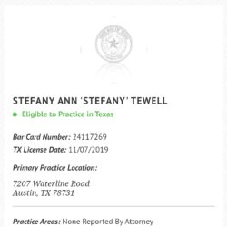 'GONE BUT NOT FORGOTTEN!' – The Judge Stefany Miley (aka Stefany Tewell) Story!