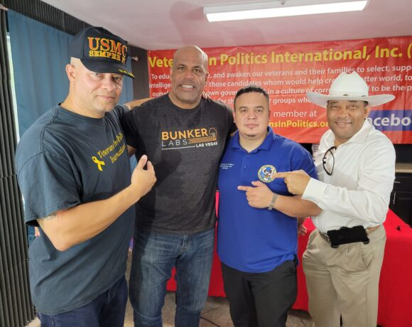 Nathan Atkins Army Veteran now a candidate for North Las Vegas Mayor!